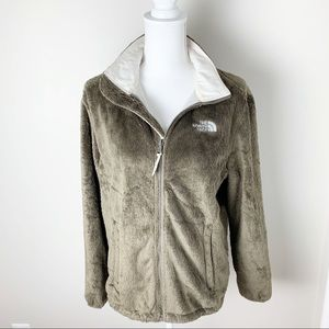 The North Face Fuzzy Full Zip Jacket Large